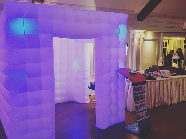 Inflatable Photo Booth Backdrops