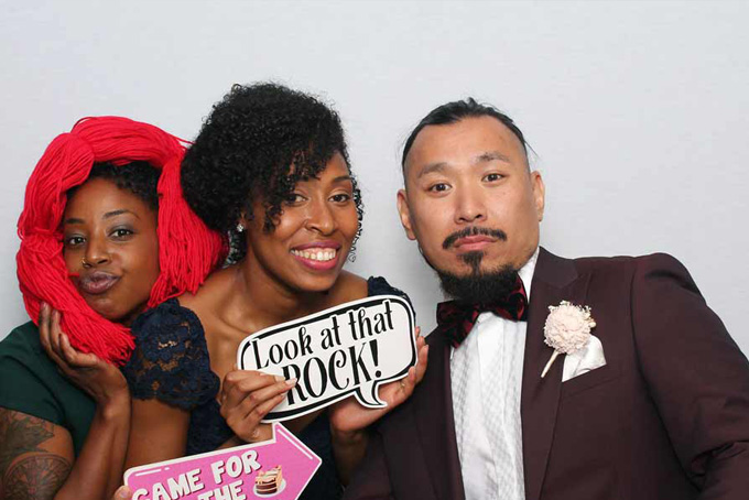 Photo booth open air